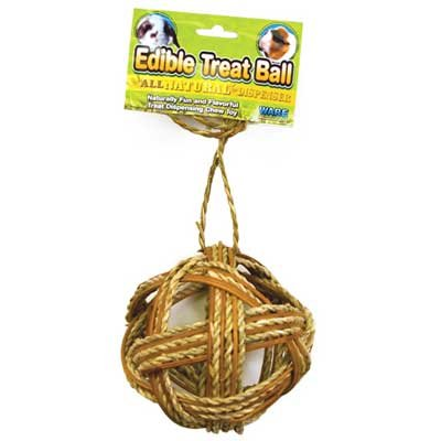 Edible Treat Ball for Small Animals - 4 in. Best Price
