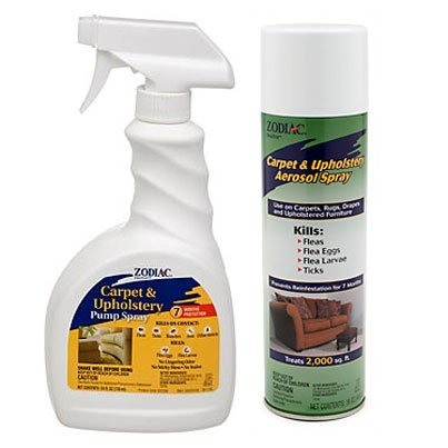 Zodiac Fleatrol Carpet Amp Upholstery Spray Dog Products