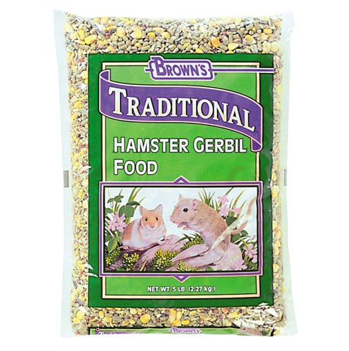 Natural Hamster and Gerbil Food - 25 lbs Best Price