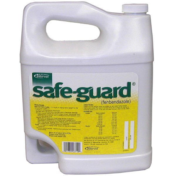 Safe Guard Drench Cattle Wormer - Gallon Best Price