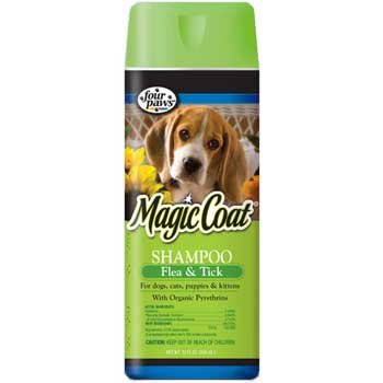 Magic Coat Flea And Tick Shampoo For Pets 16 Oz.
