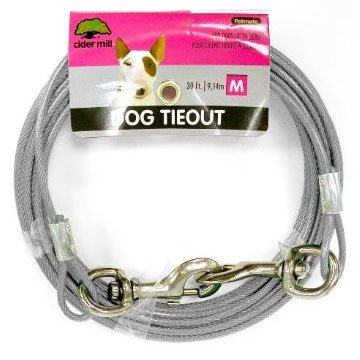 Cider Mill Dog Tie-out / Size (30 ft / 920 lb) Best Price