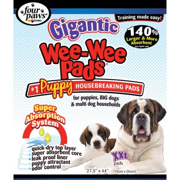 Gigantic Wee Wee Dog Pads 18 Ct.