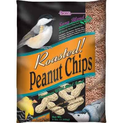 Songblend Peanut Chips Bird Seed 3 Lb. Bag Case Of 6