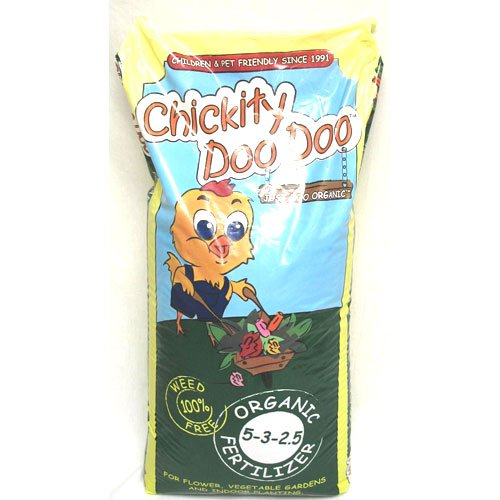 Chickity Doo Doo Organic Fertilizer - 25 lbs Best Price