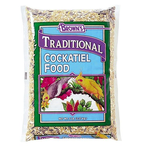 Natural Cockatiel Food - 25 lbs Best Price