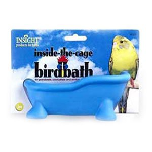 Insight Inside the Cage Bird Bath for Pet Birds Best Price