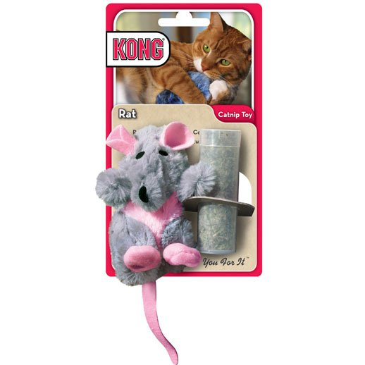 Catnip Cat Toy Rat - 3.5 in.