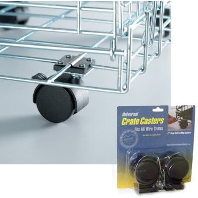 Dog Crate Casters 2 Pack