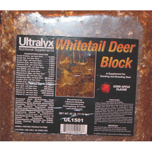 Whitetail Deer Block - 25 lbs. Best Price