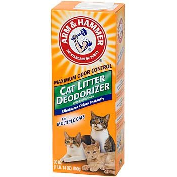Arm And Hammer Litter Deordorizing Powder 20 Oz. Case Of 9