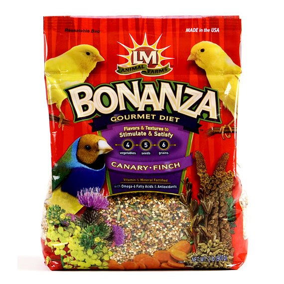 Bonanza Canary and Finch - 2 lbs Best Price