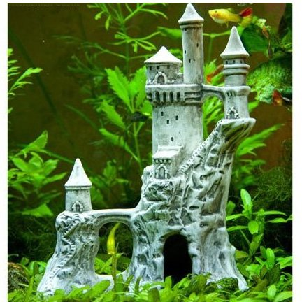 Romanian Castle for Aquariums - 10.5 in. Best Price