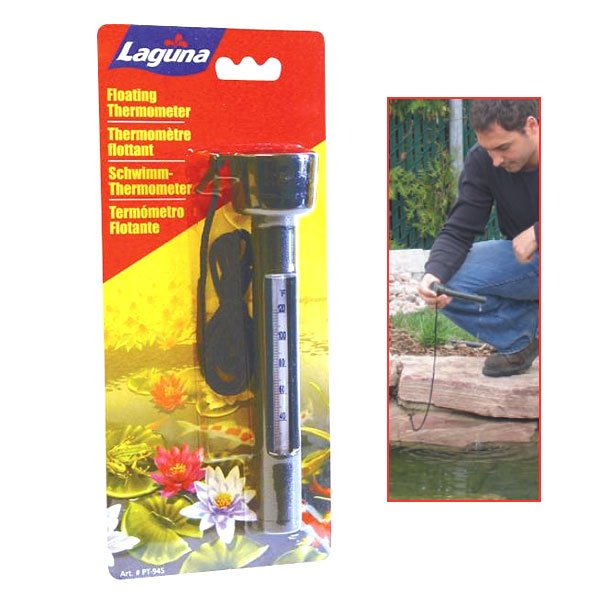 Laguna Floating Pond Thermometer