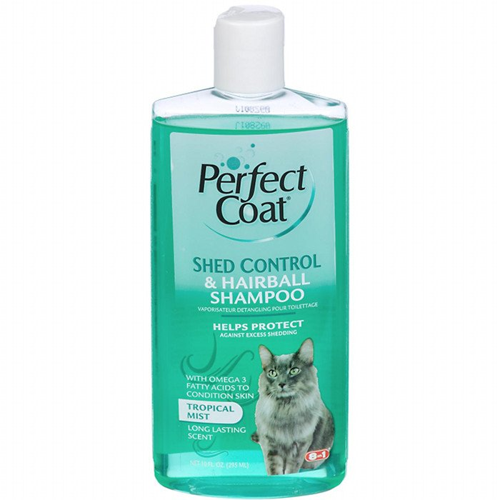 Shed Control Hairball Shampoo For Cats 10 Oz.