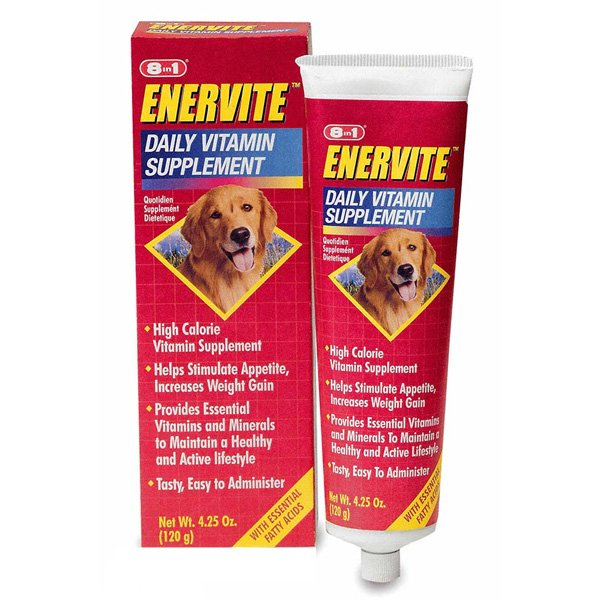 8 In 1 Enervite Adult Dog Daily Supplement 4.5 Oz.