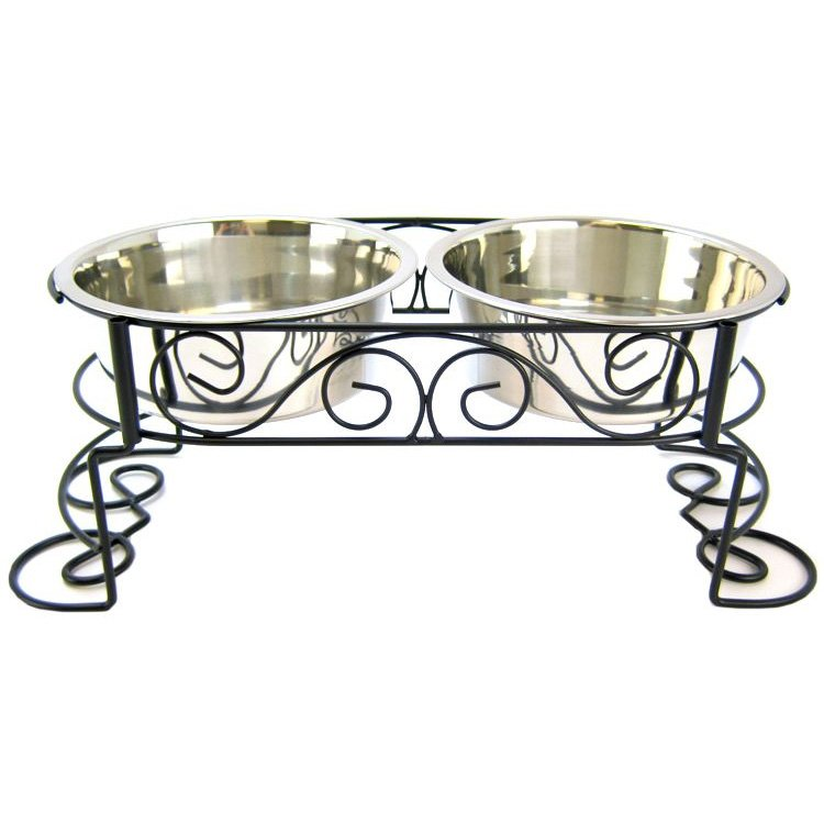 Elevated Designer Double Diner / Size (2 Quart) Best Price