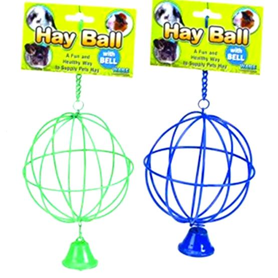 Hay Ball With Bell For Small Pets