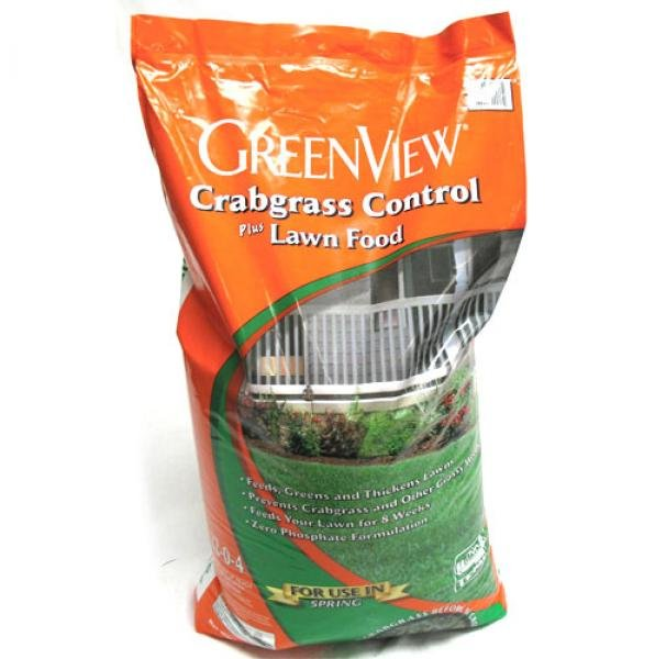 Greenview Fertilizer 22-0-4 - Crabgrass Control - 15000 sq. ft. Best Price