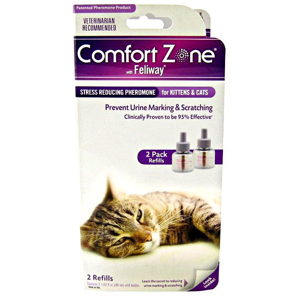 Comfort Zone With Feliway Double Refill