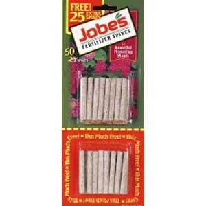 Jobes Flowering Plant Food Spikes - 50 pk - 2.2 oz. Best Price