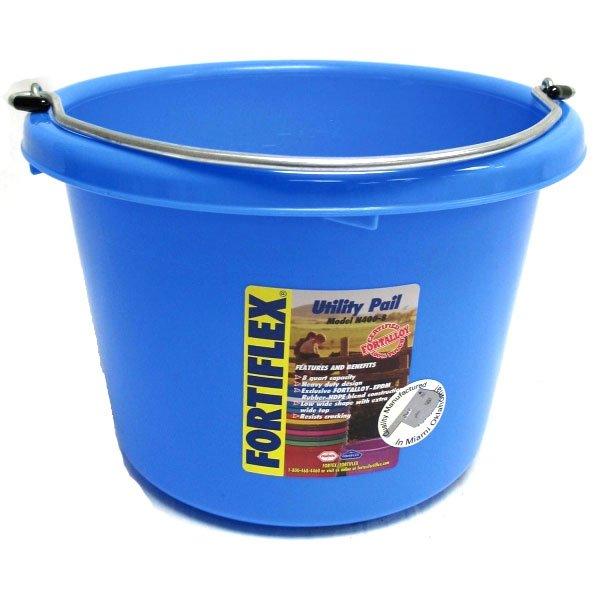 Plastic Utility Pail 8 Qt. / Color Sky Blue