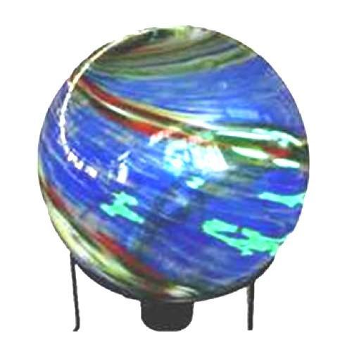 Glass Globe - Blue/Red/Green 10 in. Best Price