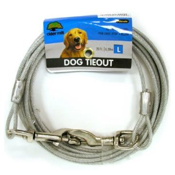 Cider Mill Dog Tie-out / Size (20 ft. / 1700 lb) Best Price