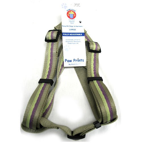 Adj. Easy On Dog Harness / Size (Plum Sage 1 x 30-40 in.) Best Price