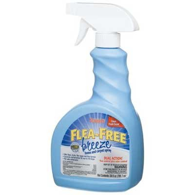 Flea-Free Breeze Home and Carpet Spray - 24 oz. Best Price