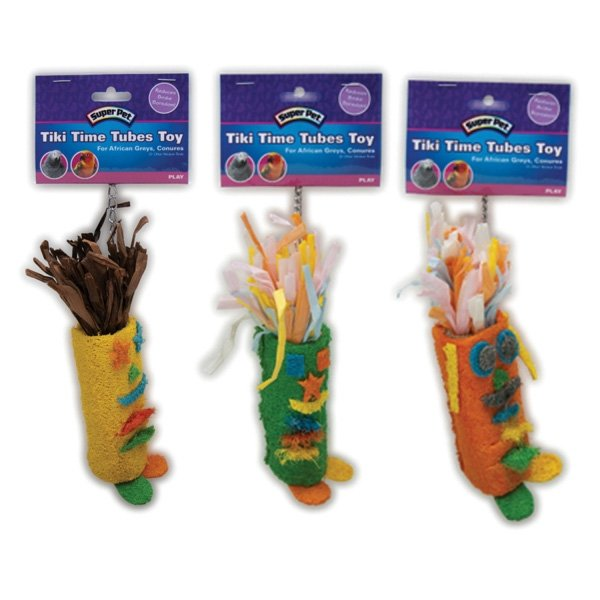 Avian Tiki Time Tube Toy  / Size (Large) Best Price
