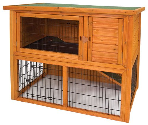 Premium Plus Penthouse Rabbit Hutch - 46x25x36.5 in. Best Price