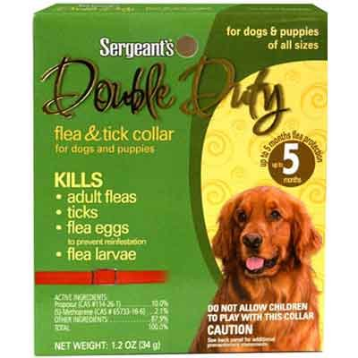 Double Duty Flea and Tick Collar for Dogs Best Price