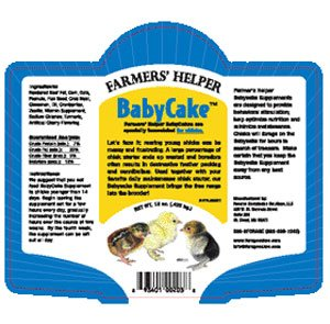 Baby Cake Chick Food 15 oz. Best Price