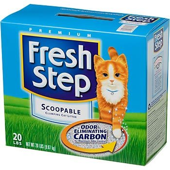 Fresh Step Premium Scoopable Clumping Cat Litter - 25 lbs Best Price