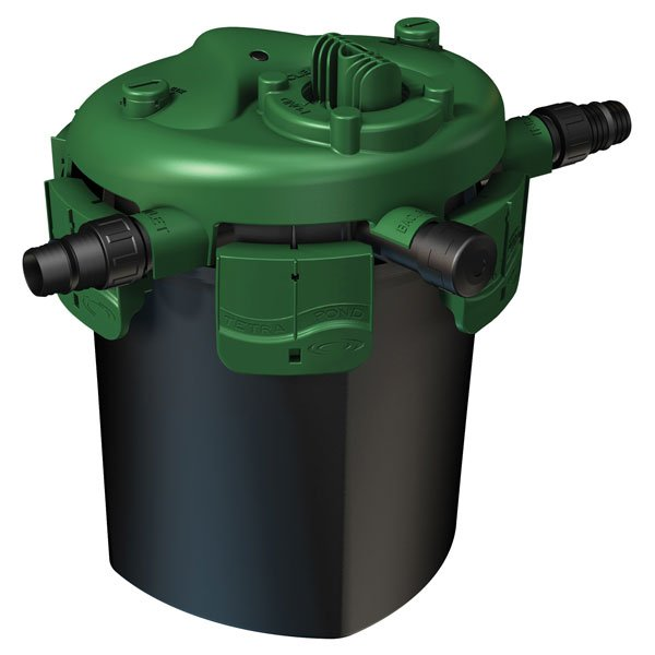 Tetra Bio Pressure Filter W/uv Clarifier / Size Bp4000 W/ 18w Uv