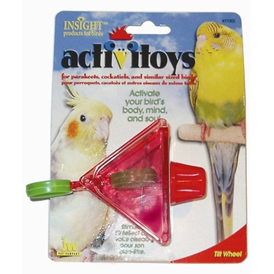 ActiviToys Tilt Wheel Bird Toy 3 in. Best Price