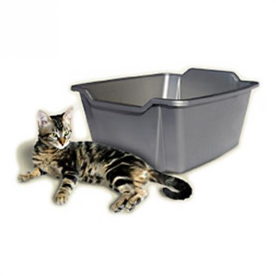 High Sides Cat Litter Pan / Size (Large) Best Price