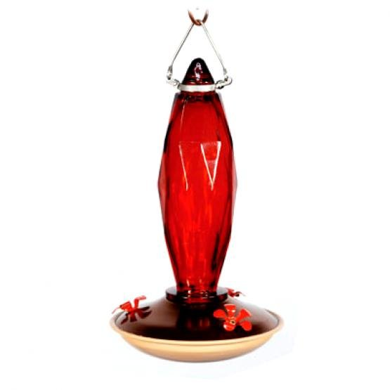 Cut Glass Hummingbird Feeder Best Price