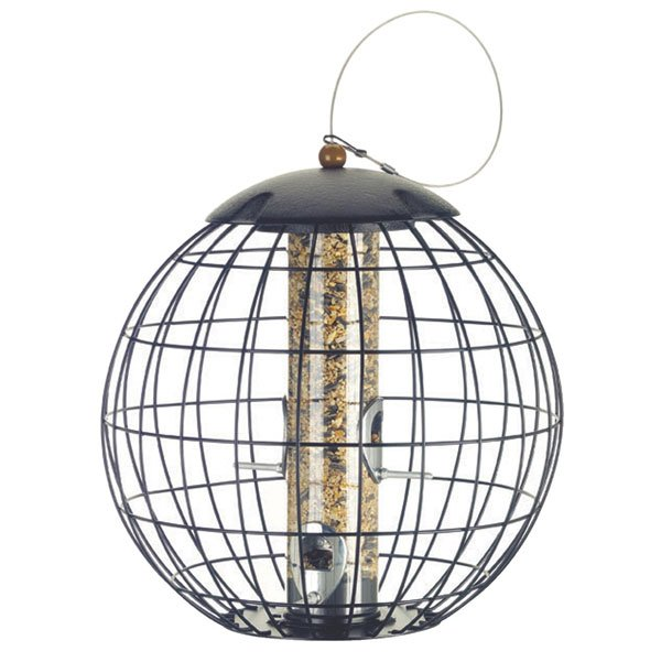 Squirrel Proof Cage Seed Wild Bird Feeder Best Price