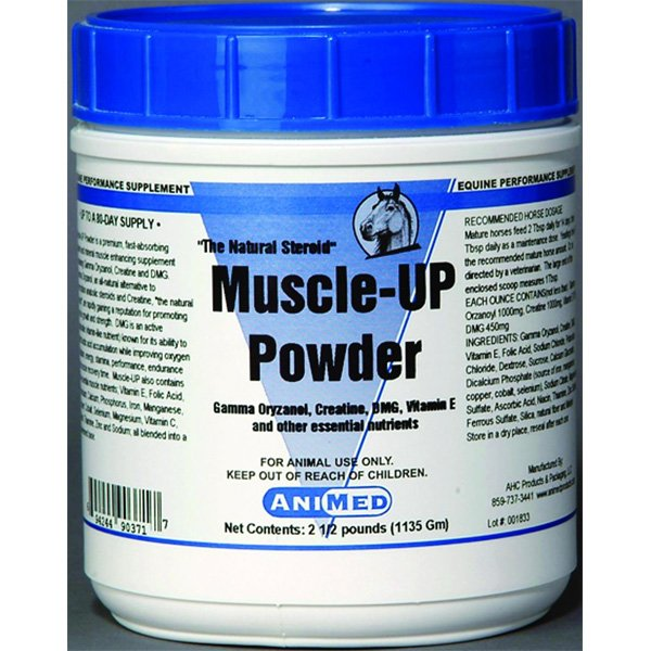 Muscle Up Powder for Horses 2.5 lbs Best Price