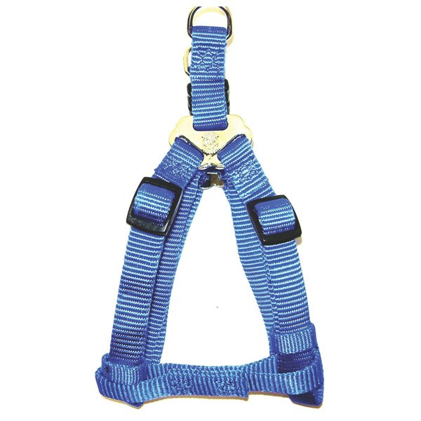 Adjustable Step-In Dog Harness / Size (Blue 12-20 in.) Best Price