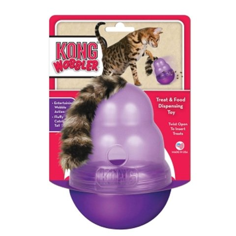 Cat Wobbler Cat Toy - Purple Best Price