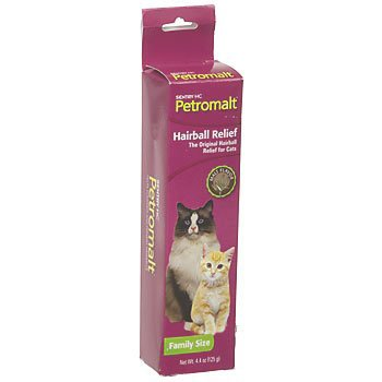 Petromalt Cat Hairball Remedy / Size 4.4 Oz. / Malt Flavor