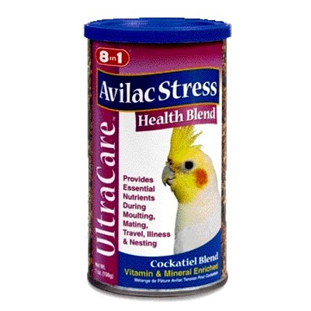 Avilac Stress Health Blend For Cockatiels 7 Oz.