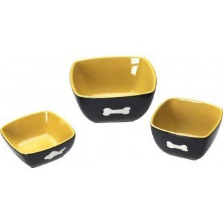 Vista Pet Dish / Type (Cat/Yellow) Best Price