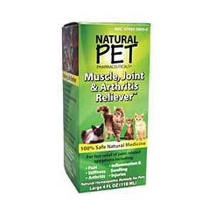Natural Pet Muscle  Joint and Arthritis Relief Cat Supplement - 4 oz. Best Price