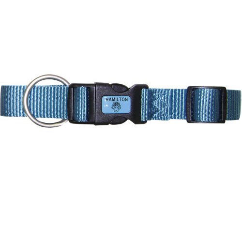 Adjustable Dog Collar / Size (Blue 3/4 in. /16-22 in.) Best Price