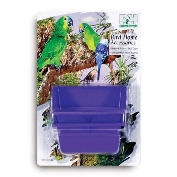 High Back Plastic Cups for Pet Birds - 6 oz / 2pk. Best Price