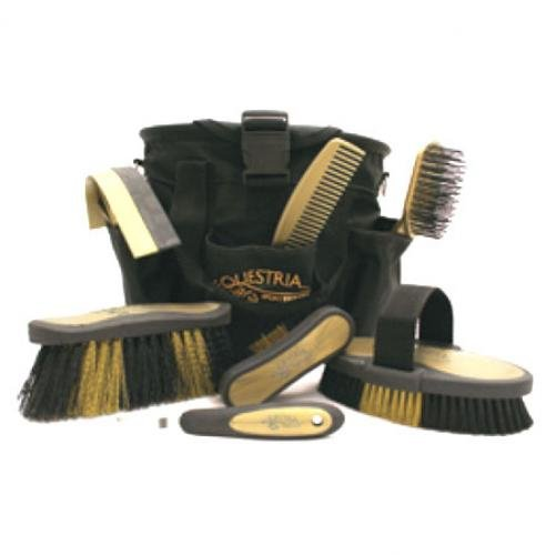 Equestria Sport 8 Piece Grooming Kit / Color (Black and Gold) Best Price